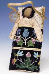 This item was featured in the Smithsonian's Fall 2004 publication Smithsonian In the Classroom on Native American Dolls