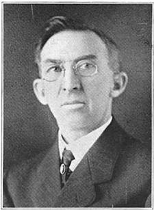 Portrait from August 1918 ND Banker