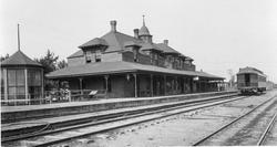 Queen Anne Style Depot 1898 to 1924 NP Railway Mandan ND